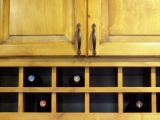 Wine Rack - Custom Cabinetry Design and Finishing