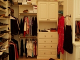 Closet Cabinetry and Built-ins