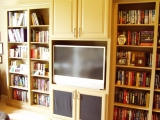 Entertainment Center Design and Custom Build