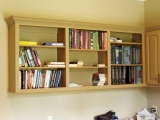 Fine Wood Shelving, Storage and Built-ins. Custom Design.