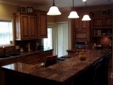 Traditional Kitchen with Custom Cabinets