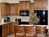 Custom Kitchen with Cabinets
