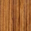 Zebrawood wood species sample